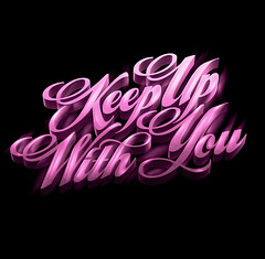 KEEP UP WITH YOU (LikeMindedStudio.com) Tags: music france illustration logo electronic fr tbg pizon teenagebadgirl dutreix