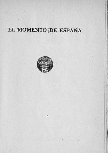 El Momentode España (4 y 5 en blanco)