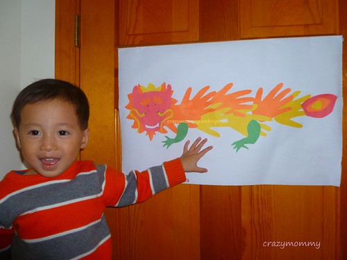The Lazy Stay At Home Mommy Dragon Craft