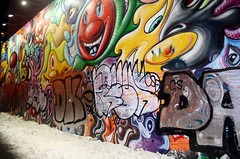 (36th Chamber) Tags: nyc graffiti mural houston da dk bowery kenny scharf