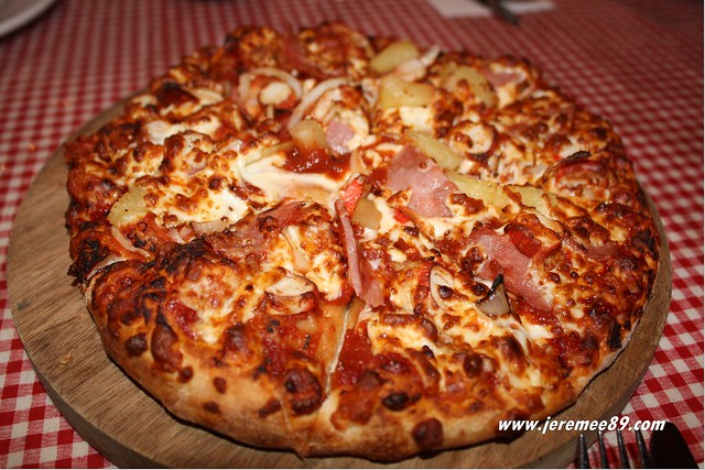 US Pizza @ Greenlane - Aloha Deluxe