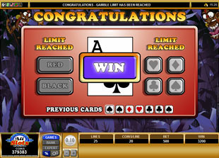 free Tribal Treasure gamble game