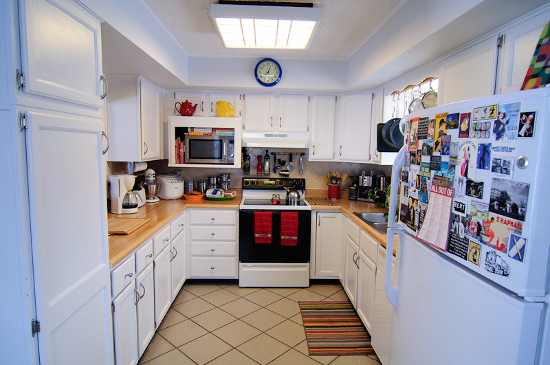 Wide Shot, Small Kitchen