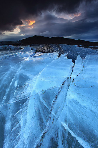 Relentless Force - Svínafellsjökull Glacier in Skaftafell, Iceland