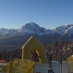 Panorama from the start of Lake Louise, January GMC cup