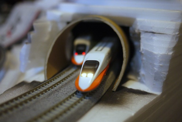 Tunnel in progress