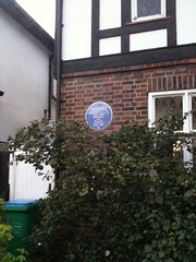 Photo of Herbert Howells blue plaque