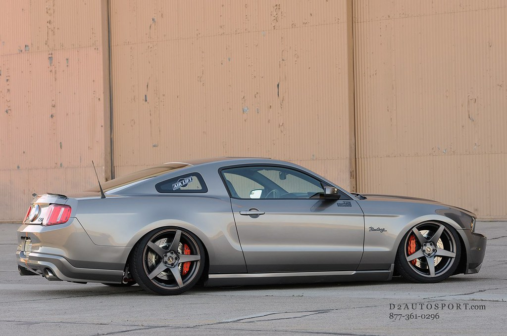 Lakeview Auto Sales >> Slammed Much? Forgestar Mustang : D2Autosport.com ...