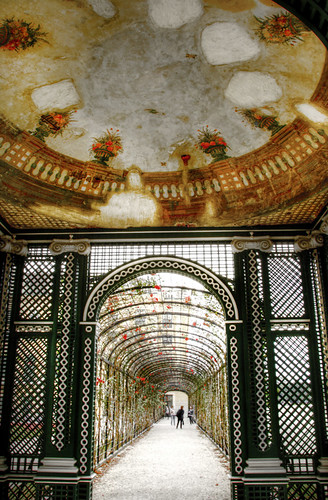 Shonbrunn palace gardens. Vienna. Jardines del palacio de Schonbrunn. Viena