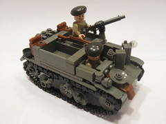 "Universal Carrier Mk. II (""Rumrunner"") Tags: lego wwii canadian ww2 universal carrier bren worldwar2"