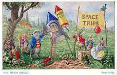 Space Trips! (S_Crews) Tags: postcard littleanimals raceyhelps
