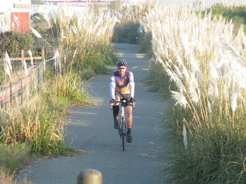 Dan on the East Bay Trail