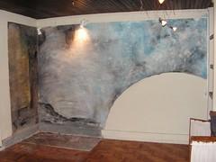"""O antes: o canto """"instalação de arte"""""""