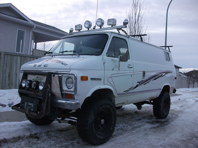 conversion 4x4 van gmc vandura