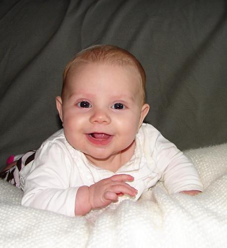 Addie @ 4 months