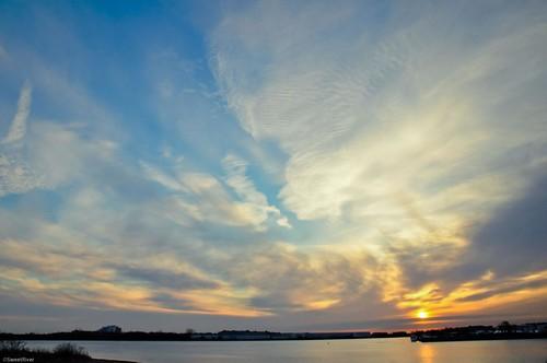 Boston Sun Rise