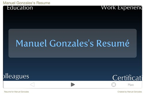 Manuel Gonzales's Resume - on prezi.com