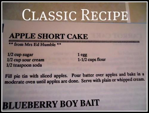 Apple Short Cake