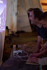 BUTTON (mrbichel) Tags: party copenhagen boat arcade videogames indie button interaction wii illutron cphgc