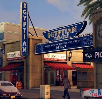 L.A. Noire Egyptian Theatre