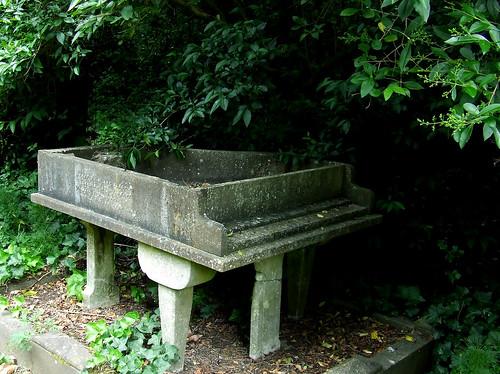 Cemetery piano