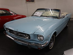 1966 Ford Mustang Convertible (harry_nl) Tags: ford netherlands gallery nederland convertible mustang 2014 brummen