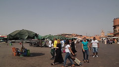 Marrakech - Jema El Fna square (nizega) Tags: jemaa el fna marrakech morocco africa culture music street food madness colors smells