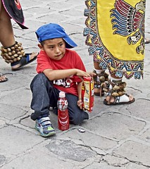 Watching a Parade (OSChris) Tags: parade child watching sanmigueldeallende mexico guanajuato