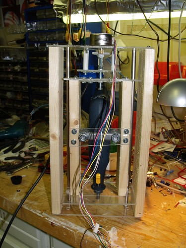 Z-Axis version 2 - with rotary tool installed.