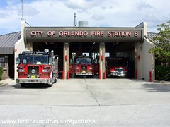 Orlando Fire Dept Fire Station No. 8 (West Florida Fire Photography) Tags: ofd cityoforlando orlandofirestations orlandofiredept floridafireapparatusandstations