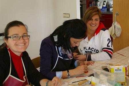 Sonia, Arantxa y Yolanda