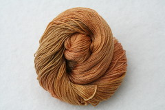 Yarn Pirate Merino Tencel Sock-- Pumpkin Pie