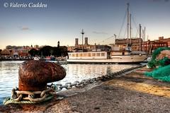 Il Porto Sicuro (valerius25) Tags: sardegna port boat barca sardinia harbour porto hdr cagliari bitta 4xp valerius25 valeriocaddeu