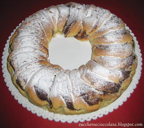 zucchero e cioccolata: corona alla nutella - Blog Di Cucina Dolci