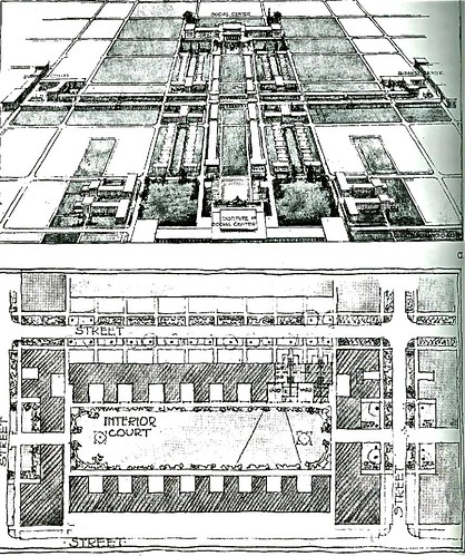 plan for the 1912 Chicago exhibition by Wm. Drummond (thanks to myurbanist.com)