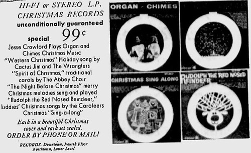 Ad for The Crescent The Spokesman-Review - Nov 23, 1962