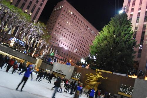 Rockefeller rink