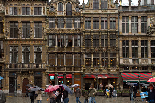 Architecture at the Grand Place
