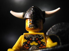 Angry Viking Close-Up (s.kosoris) Tags: macro canon lego minifig vikings viking minifigure s3is canonpowershots3is legovikings skosoris