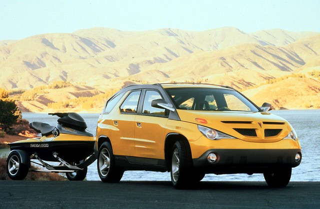1999 Pontiac Aztek Concept Vehicle. General Motors Press Photo Copyright GM