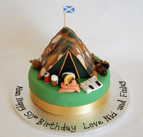 Army Tent Cake & Army Tent Cake - Beautiful Birthday Cakes