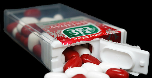 tic tac limited editon holiday twist