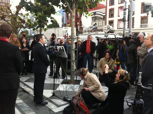 AFER press conference