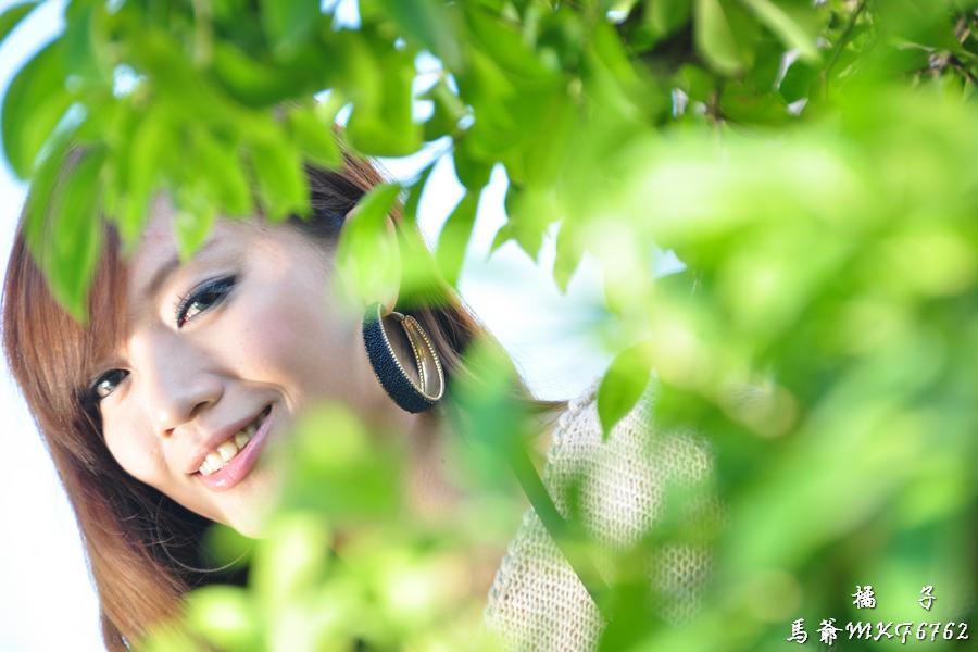 美女---2010-1205 日 橘子~亞洲大學~馬爺