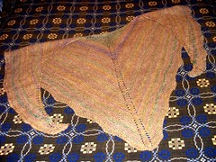 Copper shawl finished