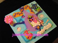 Dibo The Gift Dragon theme birthday cake (Jcakehomemade) Tags: bunny disney annie elo cro dibo tvanimation cartooncake childrencake dibothegiftdragon jcakehomemade dibothegiftdragonthemebirthdaycake kayleyanddylansbirthdaycake