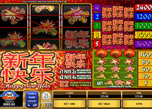 Happy New Year slot game online review