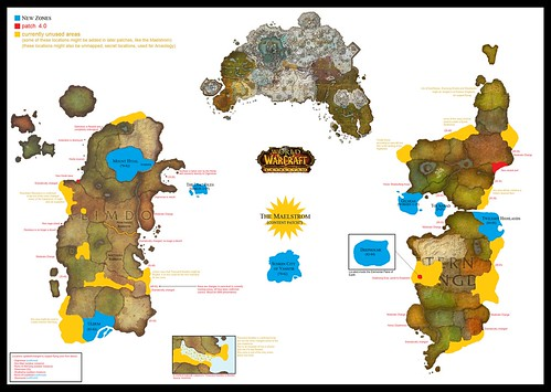 world of warcraft map cata. World of Warcraft - Cataclysm