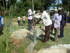 Mutsembi primary school-Test pumping phase