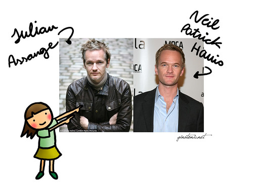 barney stinson julian assange